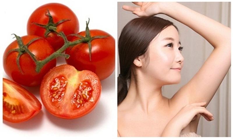 Cách tẩy lông nách bằng cà chua với 3 bước thực hiện đơn giản