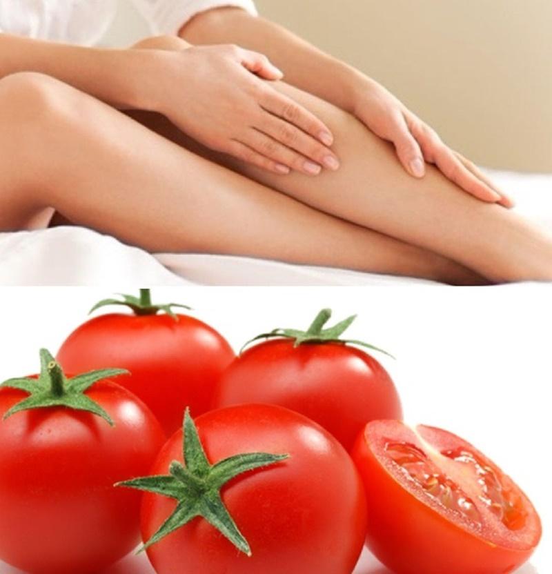 Cách tẩy lông chân bằng cà chua mang đến nhiều hiệu quả bất ngờ bởi thành phần dưỡng chất có trong loại thực phẩm này