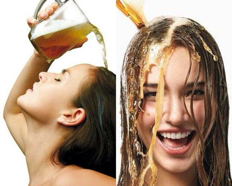 Chăm sóc tóc bằng bia nguyên chất
