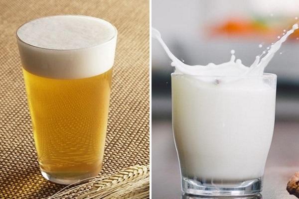 Chăm sóc tóc bằng bia và sữa tươi