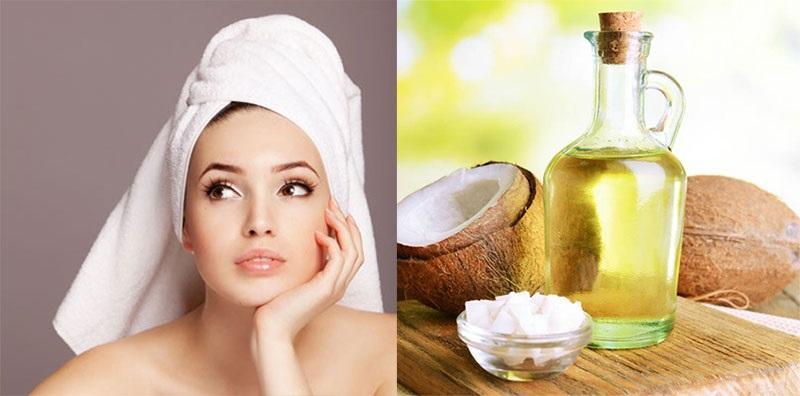 Dưỡng tóc với dầu oliu + dầu dừa