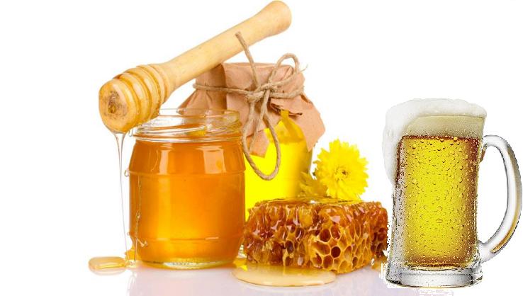 Chăm sóc tóc bằng bia và mật ong