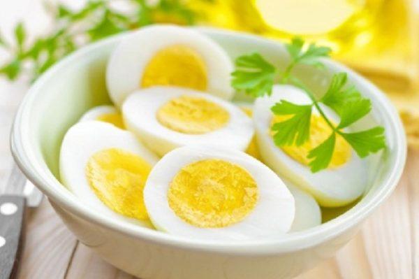 cách tăng cân bằng trứng gà